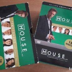 Series de TV: HOUSE.TEMPORADAS 1,2 Y 3. 18 DISCOS DVD. Lote 146512098