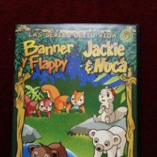 Series de TV: BANNER Y FLAPPY/JACKIE&NUCA N° 9. Lote 146528878