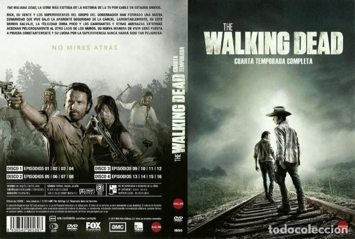 THE WALKING DEAD 4 CUARTA TEMPORADA