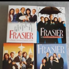 Series de TV: FRASIER 1 2 3 4 TEMPORADAS COMPLETAS 16 DVD EN TOTAL DVDS DESCATALOGADOS. Lote 180279303