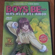 Series de TV: DVD ANIME JONU MEDIA BOYS BE.... Lote 147351782