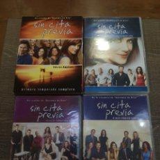Series de TV: SERIE SIN CITA PREVIA 4 TEMPORADAS. Lote 147568925