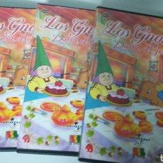 Series de TV: COLECCIÓN DVD LOS GNOMOS. FALTAN EL 1 Y EL 3. Lote 147641769