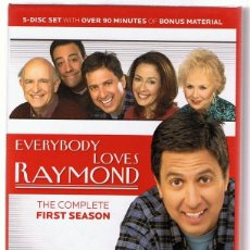 Series de TV: EVERYBODY LOVES RAYMOND THE COMPLETE FIRST SEASON. Lote 147672178