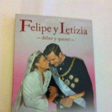 Series de TV: DVD - FELIPE Y LETIZIA - AÑO 2010 - 150 MINUTOS. Lote 147939862
