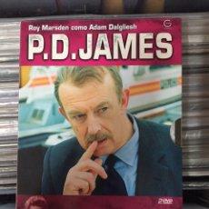 Series de TV: P.D. JAMES. UNA CIERTA JUSTICIA, EL PECADO ORIGINAL. ROY MARSDEN COMO ADAM DALGLIESH. Lote 147980358