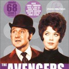 Series de TV: THE AVENGERS (LOS VENGADORES): TEMPORADA 1968 - DISCOS 1 Y 2 CON 6 EPISODIOS. Lote 147987118
