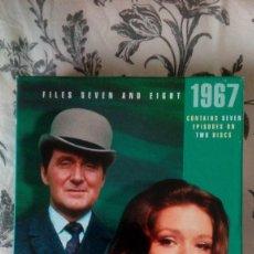Series de TV: THE AVENGERS (LOS VENGADORES): TEMPORADA 1967 - DISCOS 7 Y 8 CON 7 EPISODIOS. Lote 147987914