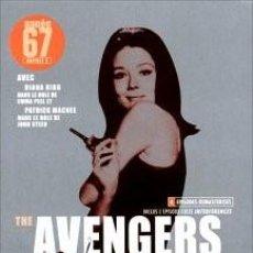 Series de TV: THE AVENGERS (LOS VENGADORES): TEMPORADA 1967 - DISCOS 3 Y 4 CON 6 EPISODIOS. Lote 147988774