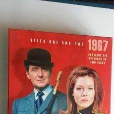 Series de TV: THE AVENGERS (LOS VENGADORES): TEMPORADA 1967 - DISCOS 1 Y 2 CON 6 EPISODIOS. Lote 147989126