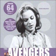 Series de TV: THE AVENGERS (LOS VENGADORES): TEMPORADA 1964 - DISCOS 7 Y 8 CON 7 EPISODIOS. Lote 147989430