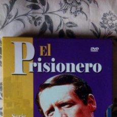 Series de TV: EL PRISIONERO: SERIE COMPLETA DE 8 DISCOS CON 17 EPISODIOS - IDIOMAS: ESPAÑOL E INGLÉS. Lote 147989754