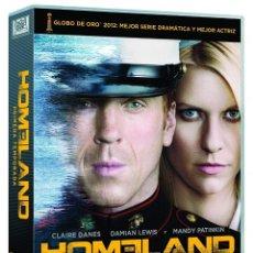 Series de TV: HOMELAND: PRIMERA TEMPORADA - 5 DISCOS CON 12 EPISODIOS - IDIOMAS: ESPAÑOL, INGLÉS E ITALIANO. Lote 147990050