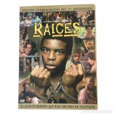 Series de TV: RAICES-EDICIÓN CONMEMORATIVA-25 ANIVERSARIO. Lote 148094150