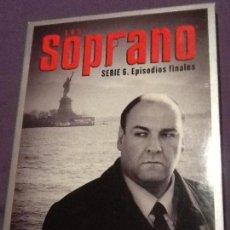 Series de TV: LOS SOPRANO - SERIE 6 (EPISODIOS FINALES) (THE SOPRANOS). Lote 148248842