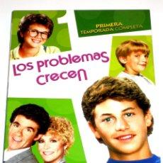 Séries TV: LOS PROBLEMAS CRECEN (T1 - 4 DISCOS) - ALAN THICKE KIRK CAMERON JOANNA KERNS DVD DESCATALOGADA. Lote 148503072
