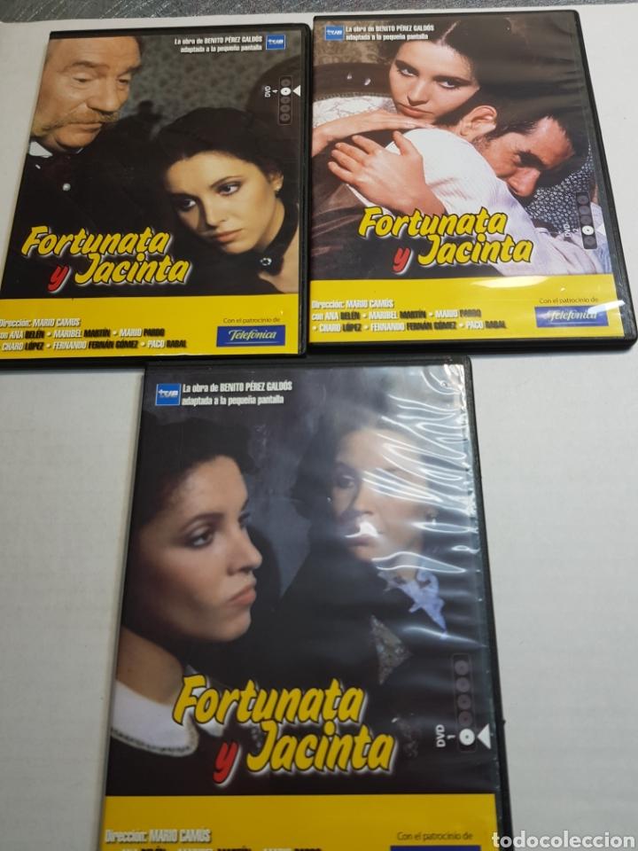 DVD ORIGINAL *FORTUNATA Y JACINTA* LOTE 3 DVD (Series TV en DVD)