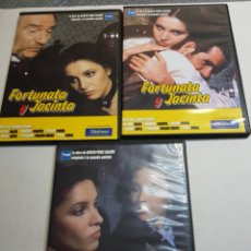 Series de TV: DVD ORIGINAL *FORTUNATA Y JACINTA* LOTE 3 DVD. Lote 148559636