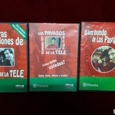 Series de TV: 3 DVD DE LOS PAYASOS DE LA TELE. Lote 148565288