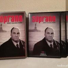 Series de TV: EDICION PACK 4 DISCOS TEMPORADA SERIE 6 EPISODIOS FINALES - LOS SOPRANO - DVD -. Lote 148600686