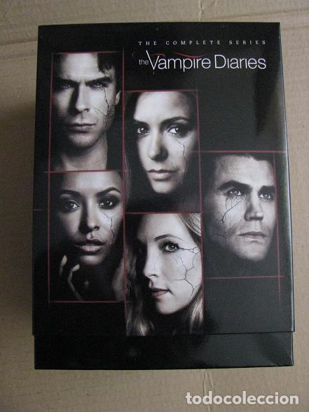 THE VAMPIRE DIARIES (BOX.IMPORTACION.COMPLETE SERIES-1-8) LEER DESCRIPCION (Series TV en DVD)