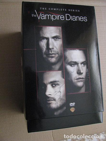 Series de TV: THE VAMPIRE DIARIES (BOX.IMPORTACION.COMPLETE SERIES-1-8) LEER DESCRIPCION - Foto 2 - 148663954