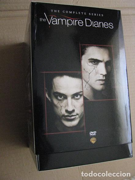 Series de TV: THE VAMPIRE DIARIES (BOX.IMPORTACION.COMPLETE SERIES-1-8) LEER DESCRIPCION - Foto 3 - 148663954