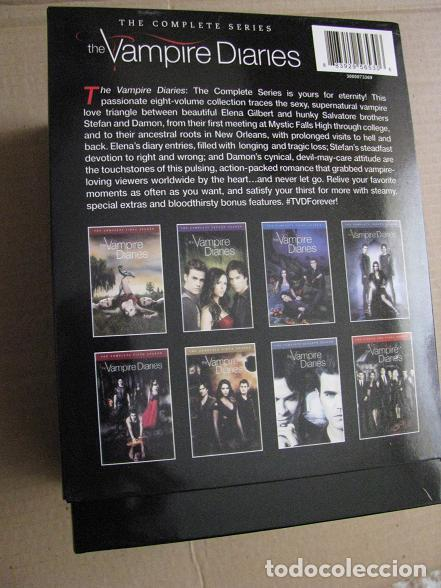 Series de TV: THE VAMPIRE DIARIES (BOX.IMPORTACION.COMPLETE SERIES-1-8) LEER DESCRIPCION - Foto 4 - 148663954