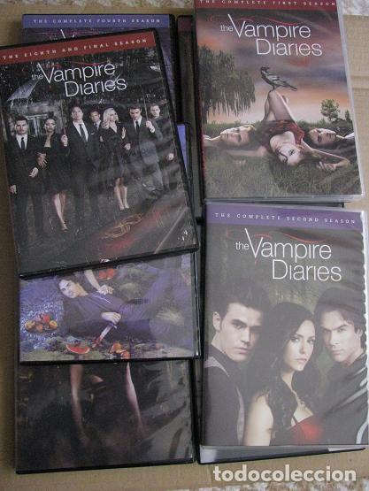 Series de TV: THE VAMPIRE DIARIES (BOX.IMPORTACION.COMPLETE SERIES-1-8) LEER DESCRIPCION - Foto 6 - 148663954