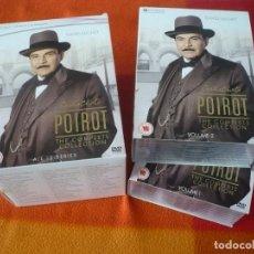 Series de TV: POIROT DE AGATHA CHRISTIE COMPLETE COLECCTION DVD PAL UK CON VOCES Y SUBTITULOS EN INGLES. Lote 149826618