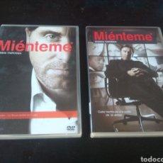 Series de TV: DVD. MIÉNTEME. PRIMERA Y SEGUNDA TEMPORADA.. Lote 150575810