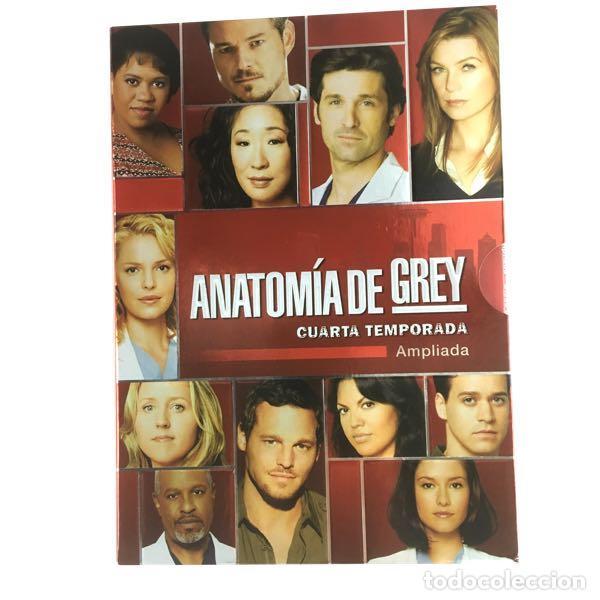 ANATOMIA DE GREY-CUARTA TEMPORADA-DVD