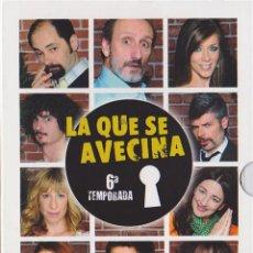 Series de TV: LA QUE SE AVECINA - 6ª TEMPORADA. Lote 150879772