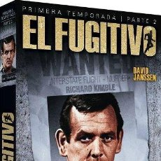 Series de TV: EL FUGITIVO : 1ª TEMPORADA - 2ª PARTE (THE FUGITIVE). Lote 150880740