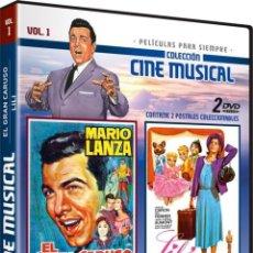 Séries TV: COLECCION CINE MUSICAL: EL GRAN CARUSO (THE GREAT CARUSO) 1951 + LILI (LILI) 1953 VOL. 1. Lote 150891773