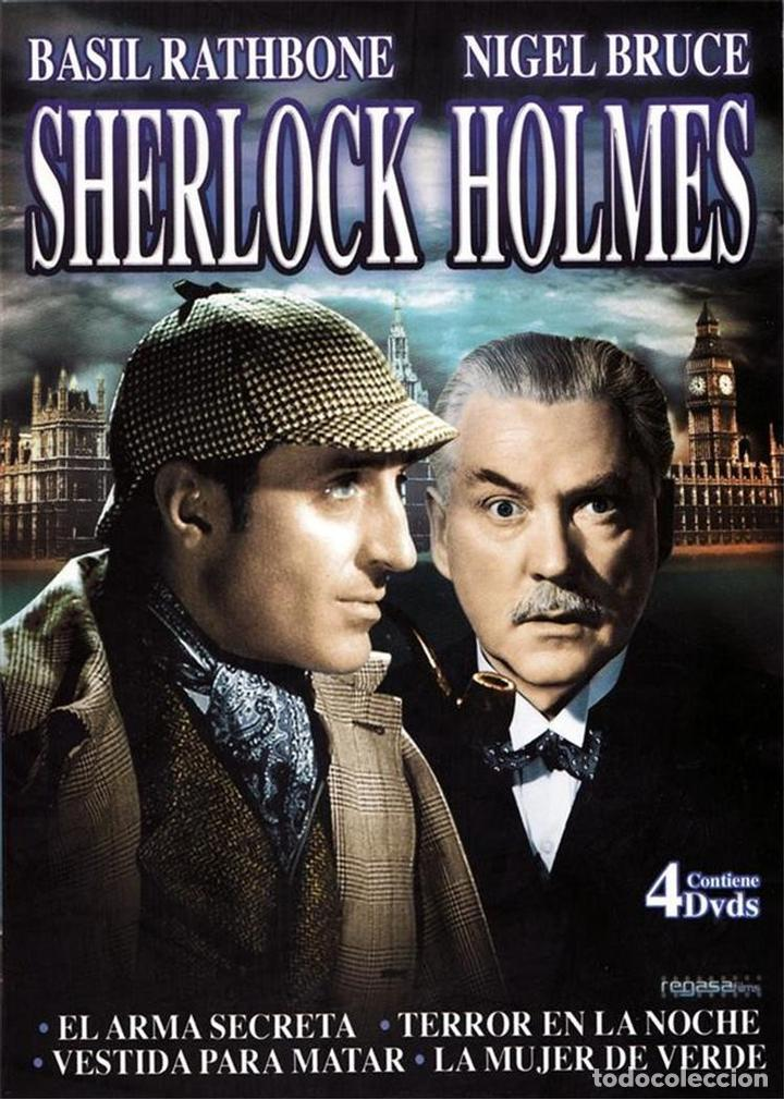 SHERLOCK HOLMES -PACK 4 DVDS (Series TV en DVD)