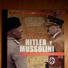 Series de TV: DOCUMENTAL EN DVD - 2ª SEGUNDA GUERRA MUNDIAL - HITLER Y MUSSOLINI - 104 MINUTOS - 2007. Lote 151177142