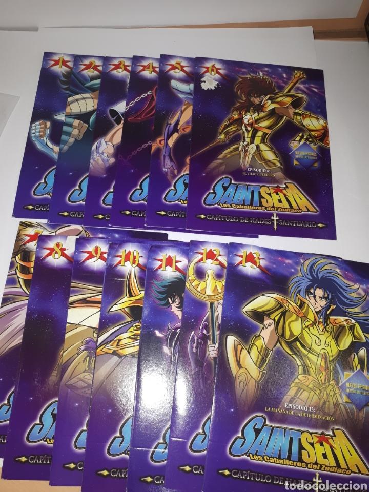 Series de TV: SAINT SEIYA LOS CABALLEROS DEL ZODIACO DVD MARCA COMPLETO - Foto 2 - 151378798