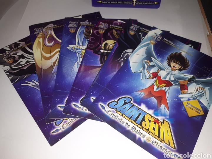 Series de TV: SAINT SEIYA LOS CABALLEROS DEL ZODIACO DVD MARCA COMPLETO - Foto 4 - 151378798