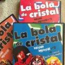 Series de TV: LA BOLA DE CRISTAL DVD LOTE DE LOS TRES PRIMEROS DVD EDICIÓN ESPECIAL DE LA MÍTICA SERIE DE TVE. Lote 151482718