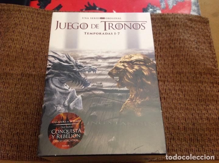 JUEGO DE TRONOS DVD SIETE TEMPORADAS PRECINTADA. (Series TV en DVD)