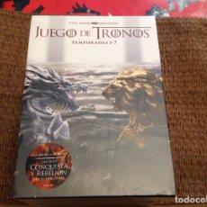 Series de TV: JUEGO DE TRONOS DVD SIETE TEMPORADAS PRECINTADA.. Lote 151574998