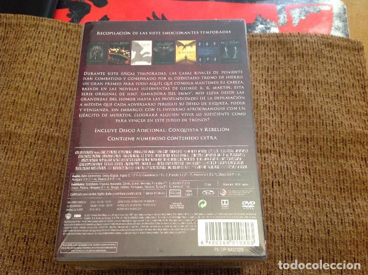 Series de TV: JUEGO DE TRONOS DVD SIETE TEMPORADAS PRECINTADA. - Foto 2 - 151574998