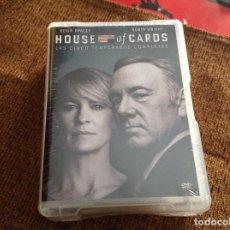 Series de TV: HOUSE OF CARDS DVD CINCO TEMPORADAS PRECINTADA.. Lote 151575158