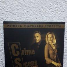 Series de TV: CSI (CRIME SCENE INVESTIGACION), PRIMERA TEMPORADA COMPLETA.. Lote 151710889