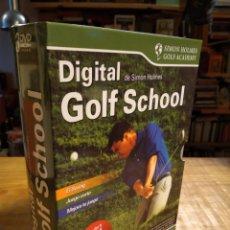 Series de TV: DIGITAL GOLF SCHOOL. SIMON HOLMES. Lote 151838502