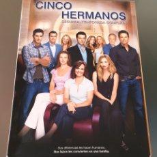 Series de TV: CINCO HERMANOS. SEGUNDA TEMPORADA (5 DVD). Lote 151845582