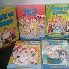 Series de TV: PADRE DE FAMILIA (LAS 5 PRIMERAS TEMPORADAS EN DVD). Lote 151876406