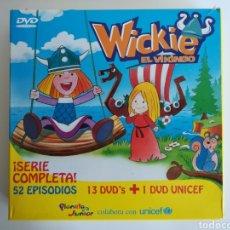 Series de TV: WICKIE EL VIKINGO - SERIE ORIGINAL COMPLETA EN DVD - EDICIÓN LIMITADA - PLANETA JUNIOR - DIBUJOS. Lote 151903461