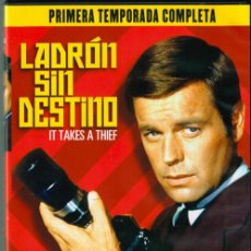Series de TV: LADRON SIN DESTINO - ROBERT WAGNER - SERIES TV - 1ª TEMPORADA COMPLETA. Lote 151979402